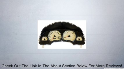 Mitsubishi ECLIPSE 2003 Speedometer Head /Cluster Review