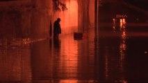 İzmir Sağanak Yağmur Nedeniyle Algeçiti Su Bastı