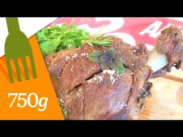 Recette du Gigot d'agneau de 7 heures - 750 Grammes