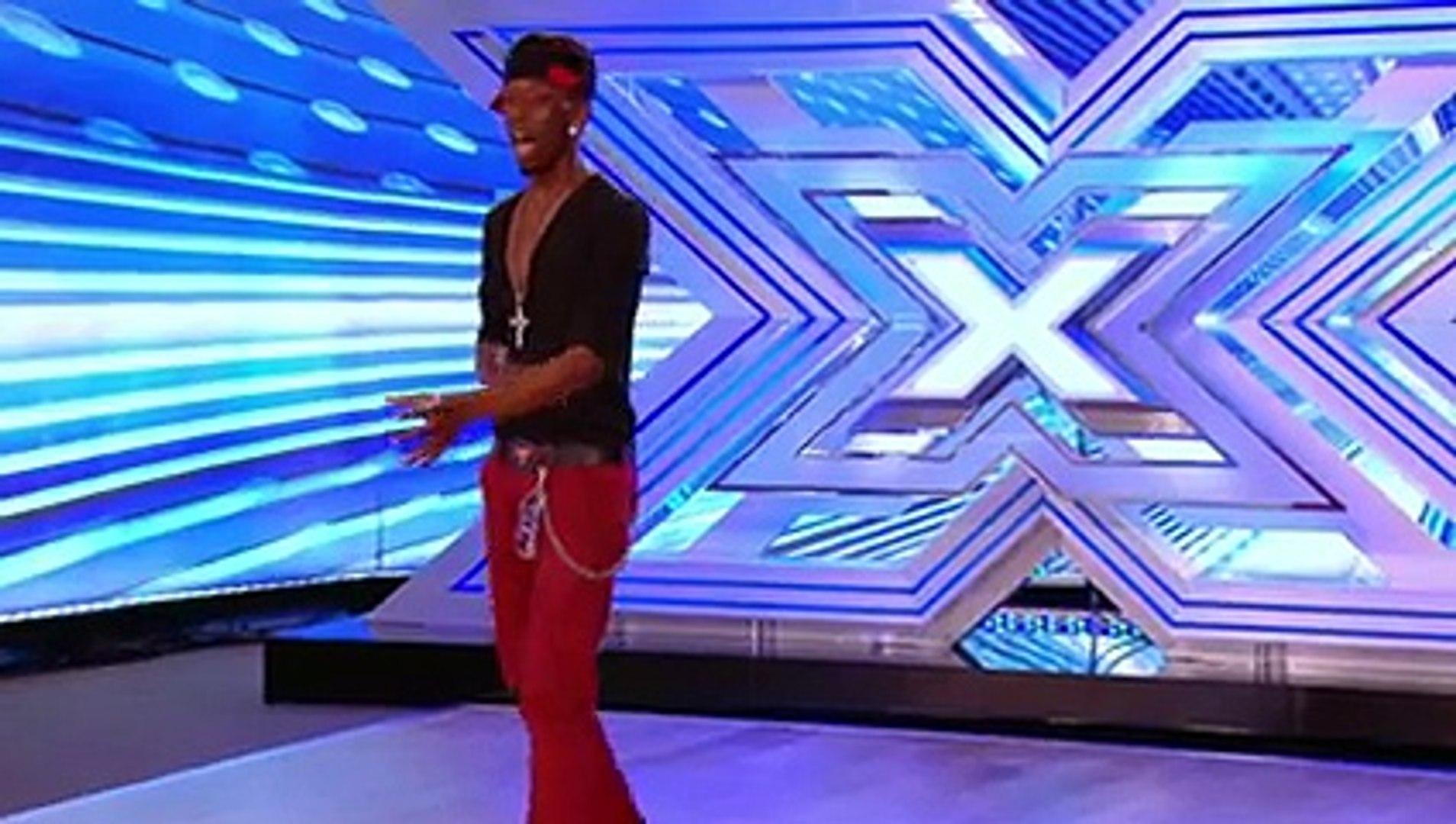J Star Valentine sings Hallelujah by Alexandra Burke - Room Auditions Week 1 -- The X Factor 2013 -