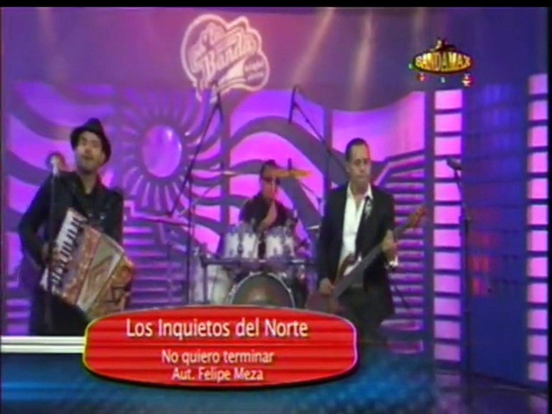No Quiero Terminar - Los Inquietos Del Norte  - En Vivo Bandamax Pa La Banda Night Show 2014