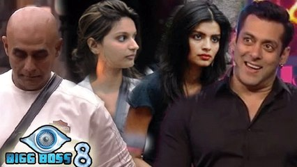 Bigg Boss 8 | Sonali, Puneet, Dimpy Saved From Elimination