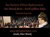 SEN SÖZLERİN DİLİSİN BEDİÜZZAMAN - Fatih Gilbert Tekin ( Senfonik Ezgi-İlahi )