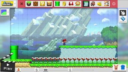 Mario Maker nous montre de nouveaux thèmes de