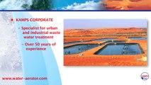 KAMPS, spécialiste du traitement des eaux urbaines et industrielles