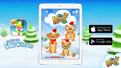 Make your own Snowman - Creative app for kids