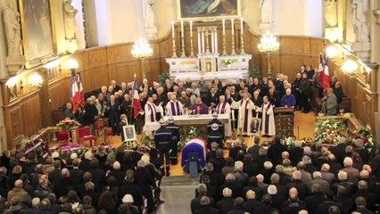 Obsèques de Jacques Barrot à Yssingeaux