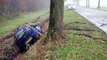 Video: Een gewonde bij ongeval Oude Pekela - RTV Noord