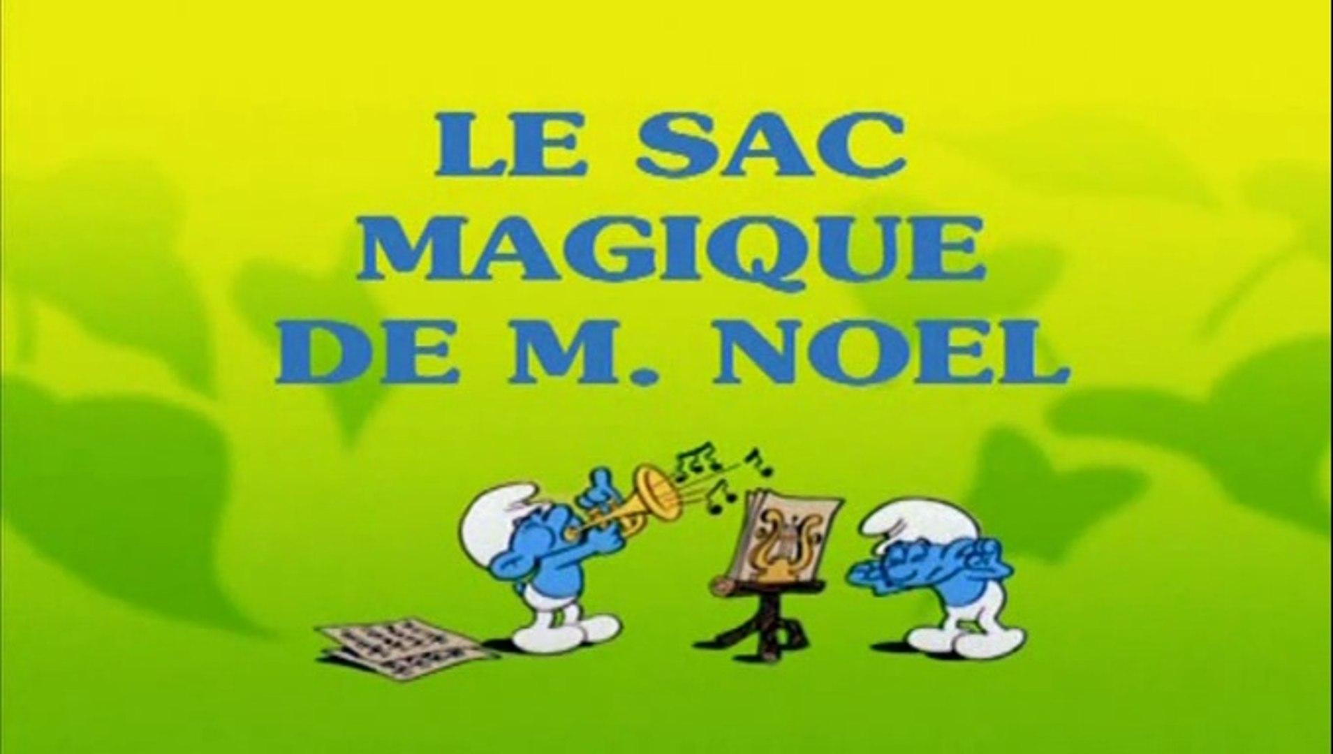 Les Schtroumpfs Le Sac Magique De Monsieur Noel Video Dailymotion