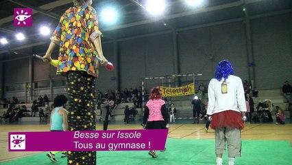 Téléthon 2014 : tous au gymnase à Besse-sur-Issole (83)