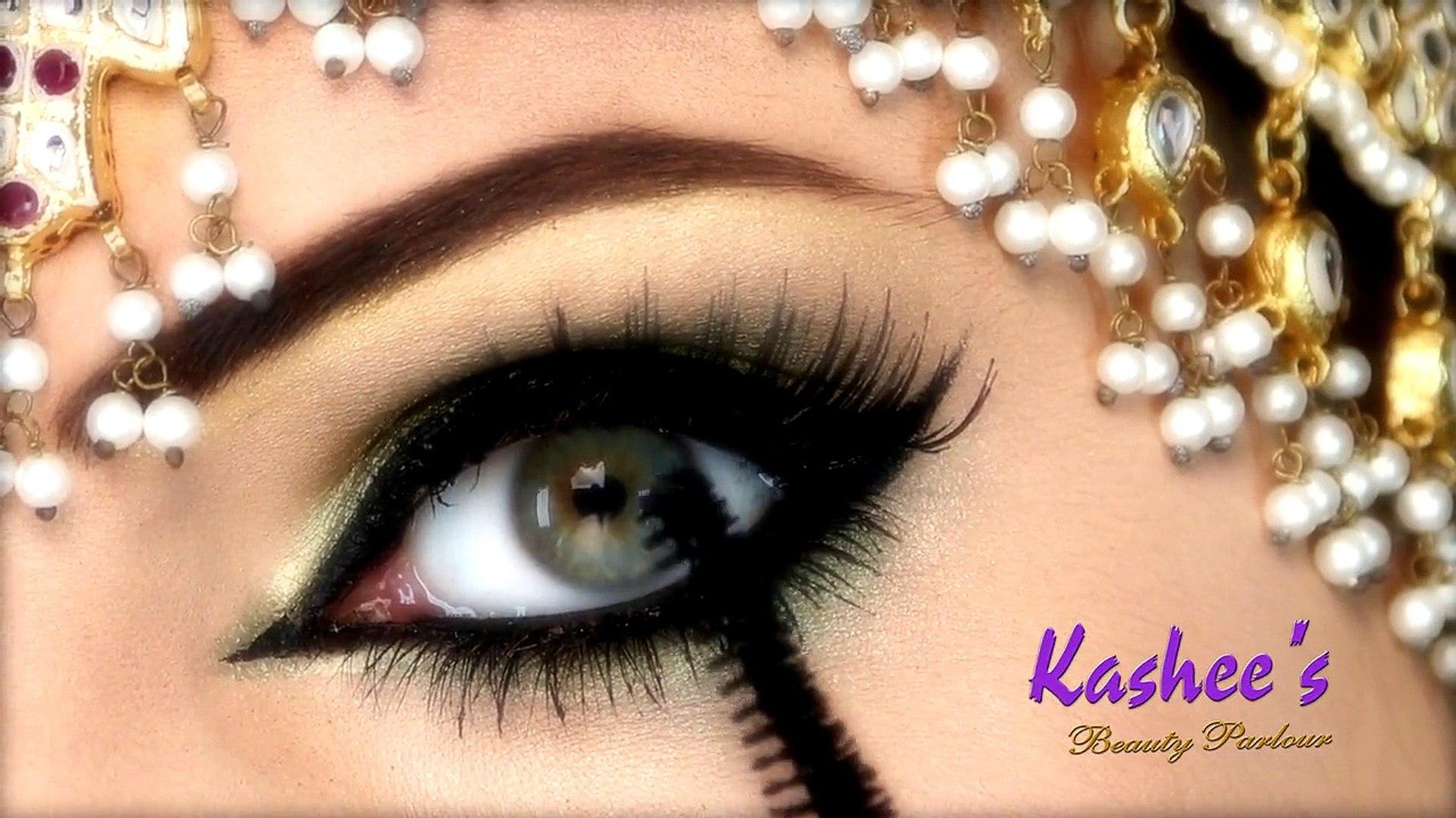 beautiful eye makeup by kashee..