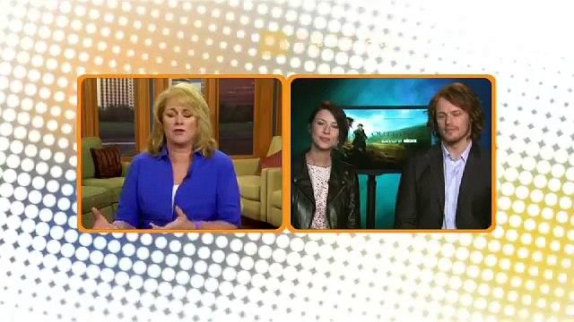 Outlander   Interview w/ Caitriona Balfe & Sam Heughan on Northwest