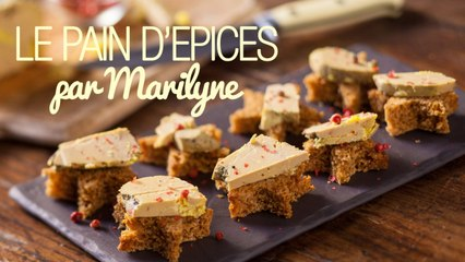 La recette du pain d'épices de Noël par Marilyne