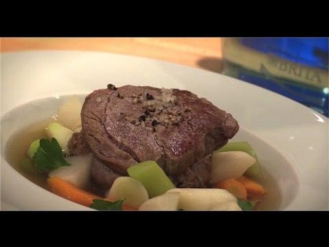 Recette de Bœuf à la ficelle et légumes croquants - 750 Grammes