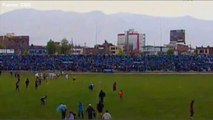 Joao Contreras se fait foudroyer en plein match au Pérou