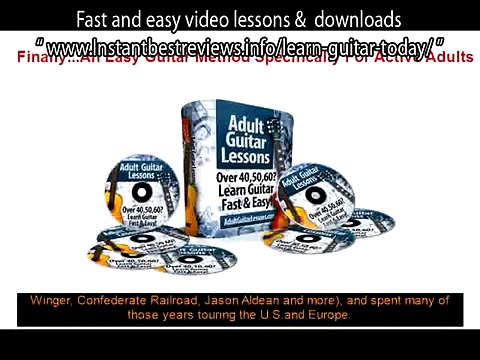 first three guitar chords to learn   Adult Guitar Lessons Fast and easy video lessons