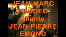 """JEAN-MARC PRODEO chante JEAN-PIERRE EMOND : """"Sur les tables de la Seine"""" (Dampremy, Bwesse a Music, 2008)"""