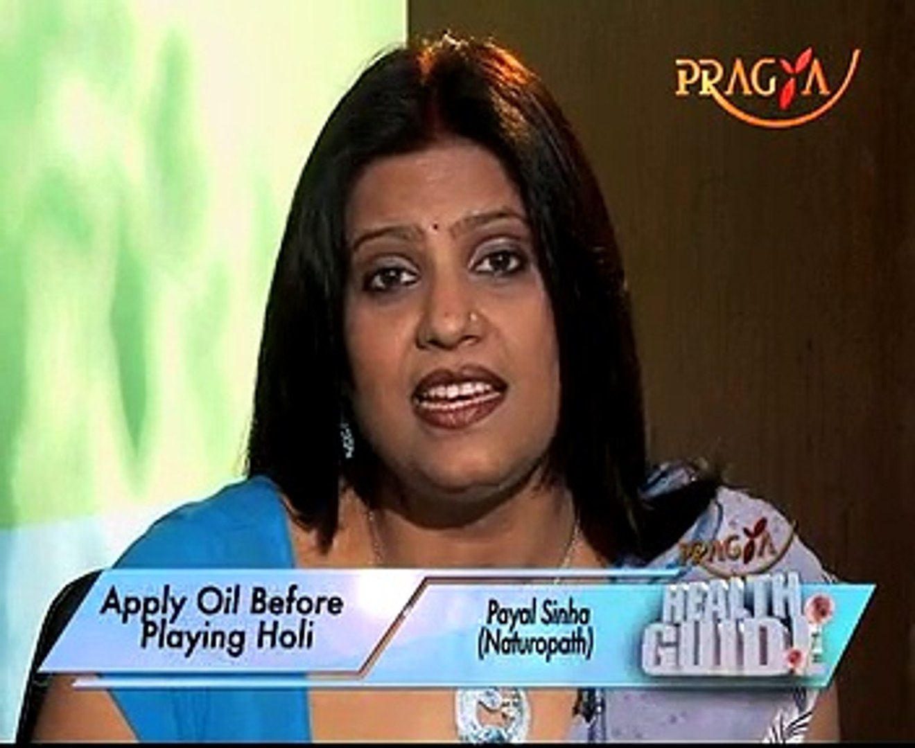 Essential Hair,Skincare Tips For A Safe Holi -Dr. Payal Sinha(Naturopath  Expert)