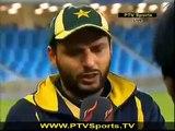 PAK Vs NZ Match: Shahid Afridi Funny Interview With Ramiz Raja After Match