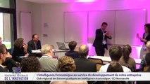 """RRI 2014 - """"L'intelligence économique au service du développement de votre entreprise"""" animée par le Club Intelligence Economique et CCI Normandie"""