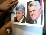 How to Draw Caricatures with Leon the Artist-Caricature of Jay Leno Pt. 1
