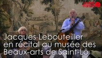 Jacques Lebouteiller en récital au musée des Beaux-arts à Saint-Lô