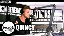 Quincy - Freestyle (Live des studios de Generations)