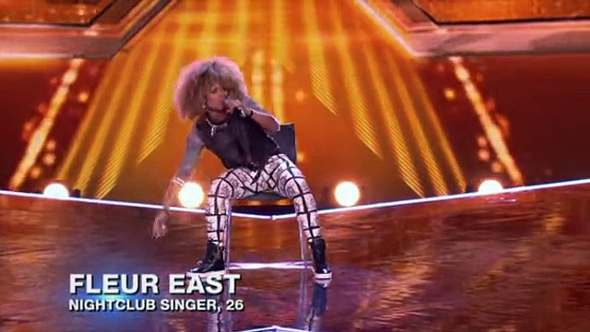 Fleur East sings M.I.A's Paper Planes - Boot Camp - The X Factor UK 2014 - Offical Channel