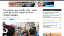 Palestinian Minister Dies After Being Struck by Israeli Troops: Reuters Witness, Medics