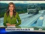 Granizada dañó unas 100 hectáreas de cultivos en Chimborazo