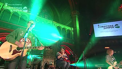 Highlights Video - Christmas Jumper Jam 2014 for Save the Children feat Editors, Charlatans, Subways, Andy Burrows, Bear's Den, Rhodes.  Presented by Lauren Laverne
