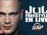 Jul - Freestyle en live dans Planète Rap !
