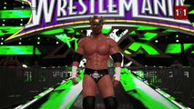 """WWE 2K15 - The """"King Of Kings"""" Triple H! With Updated Attire Including WM30 Skull King Mask!"""