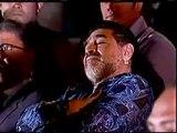 Maradona se queda dormido en un acto oficial mientras Nicolás Maduro lo halagaba