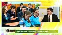 Se poate! Elevă vorbitoare de limbă rusă ia locul I la Olimpiada municipală de Limba Română pentru alolingvi.