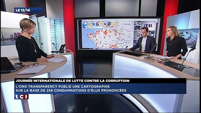 Anticor/LCI : journée mondiale contre la corruption, itv présidente Anticor Séverine Tessier