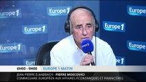 """Moscovici : """"La France n'est pas l'homme malade de l'Europe"""""""
