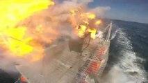 La marine américaine teste un puissant canon laser
