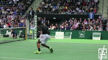 The best shots of Gael Monfils, talented Tennis player - Sport trick shots compilation