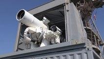 L'US Navy dévoile son canon laser