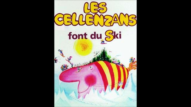 Les Cellenzans font du ski