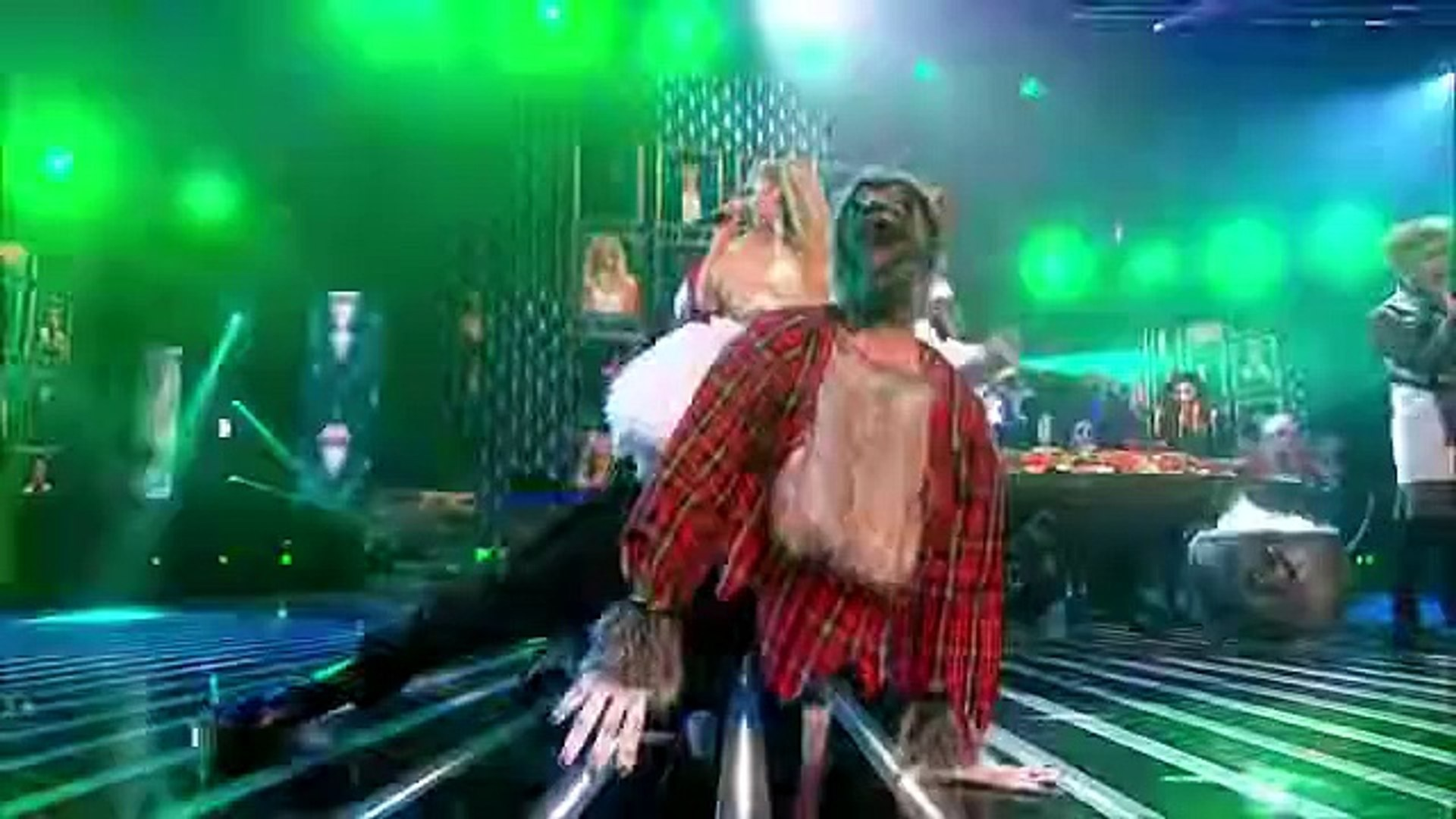 Only The Young sing Monster Mash _ Crocodile Rock Mash Up - Live Week 4 - The X Factor UK 2014-Offic