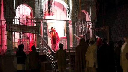 Cérémonie au temple de Gangotri