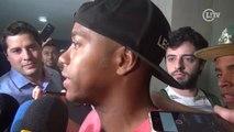 Robinho explica o que falta para definir a permanência no Santos