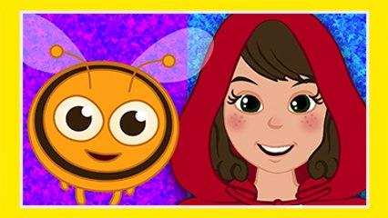 Arı Vız Vız Vız - Kırmızı Başlıklı Kız ve Kurt ile - AdisebabaTV Çocuk Şarkıları