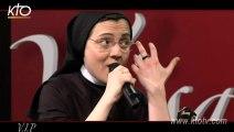 "Sœur Cristina chante ""Blessed be your name"" sur KTO"