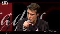 """Grégory Turpin chante """"Le Psaume de la Création"""" sur KTO"""