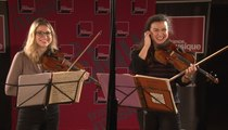 Deux danses de Béla Bartók, par Deborah et Sarah Nemtanu | Le live de la matinale