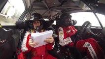 Frédéric Comte en caméra embarquée au Rallye du Var