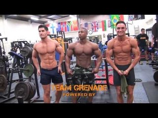 MARINES CHALLENGE - TEAM GRENADE IN BEST EVER SHAPE FOR COMMANDO SHOOT
